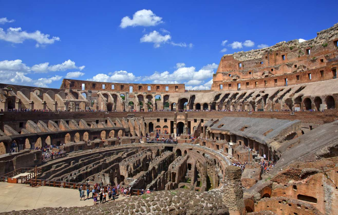 Colosseum Tour with Arena Floor Priority Access: Includes Roman Forum and Palatine Hill