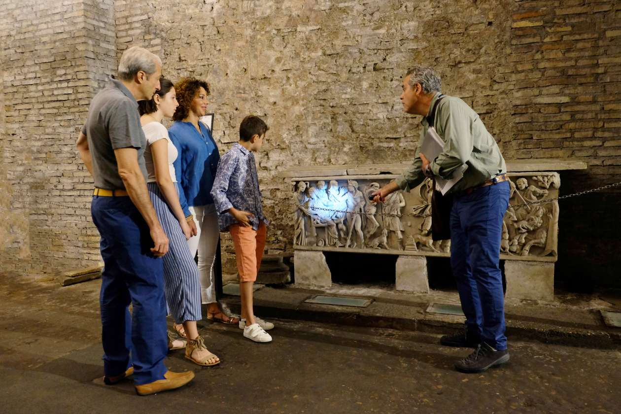 Underground Rome Tour for Kids