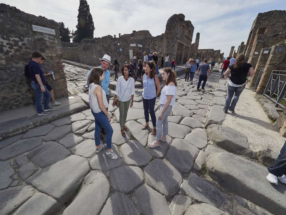 Full Day Tour of Pompeii for Kids