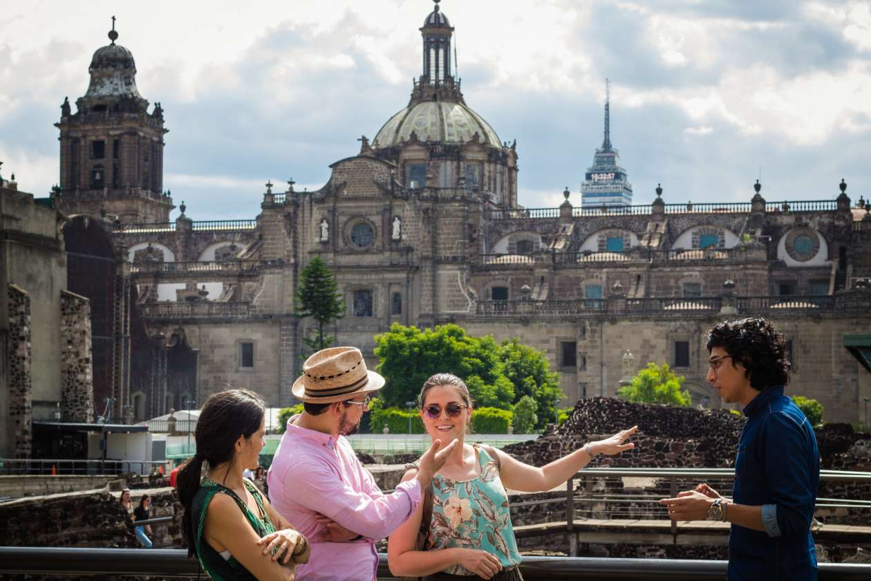 Architecture tour of Mexico City