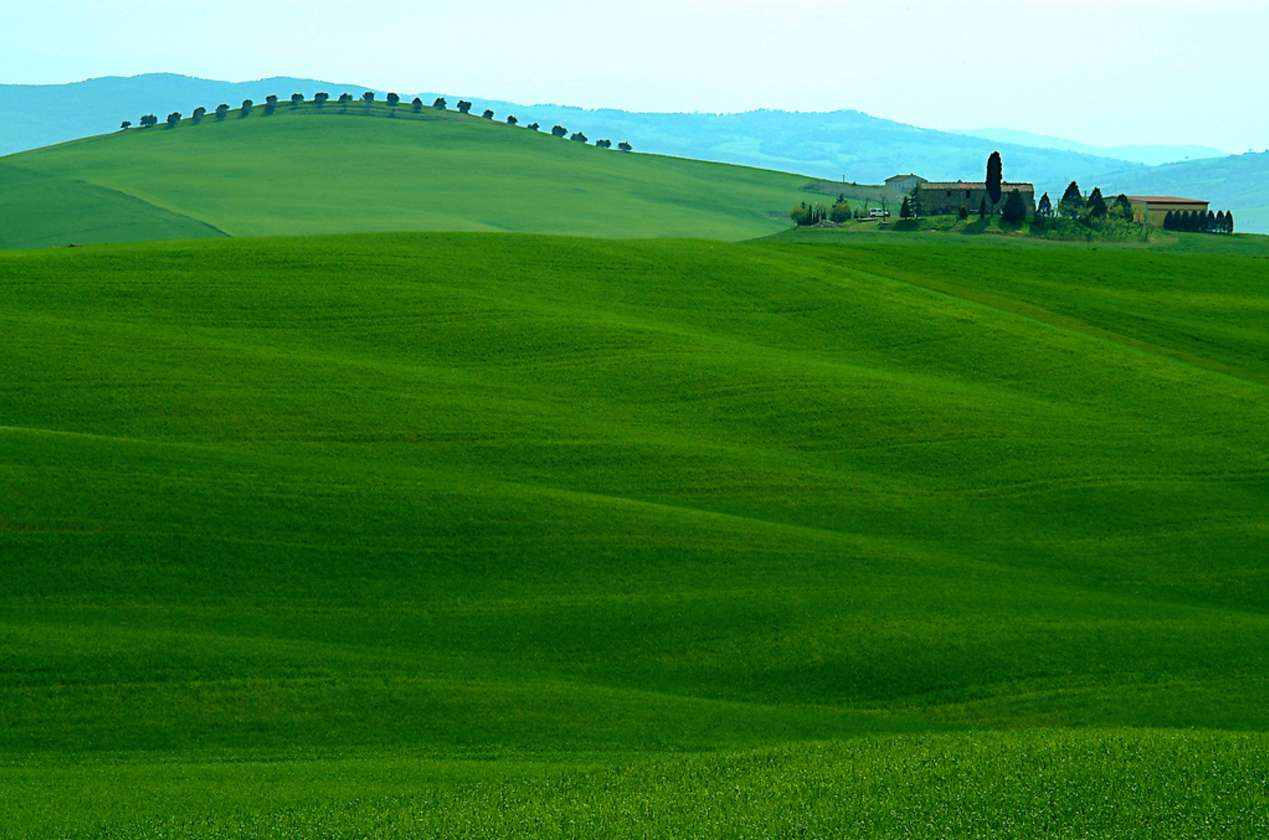 Day in the Val D'Orcia