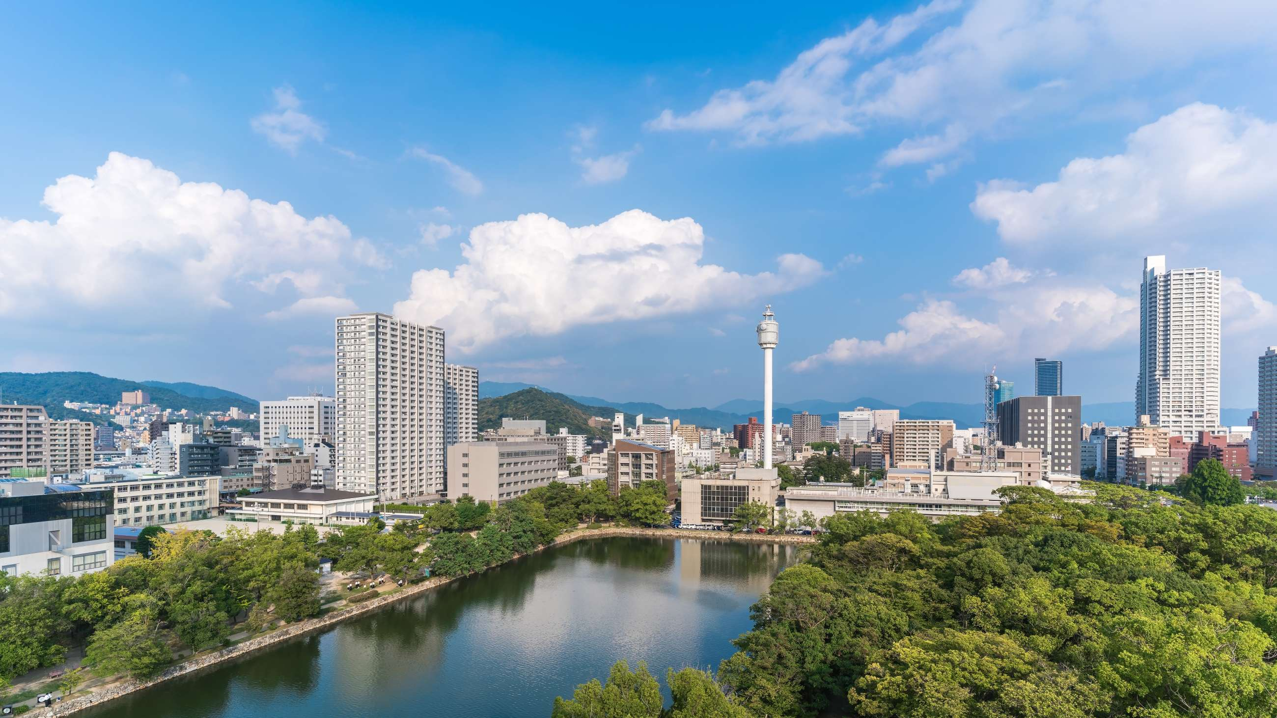 Skyline of Hiroshima
