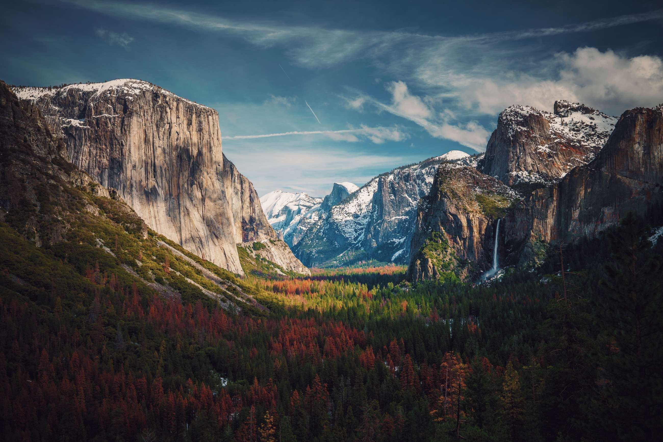 Yosemite Valley, with Half Dome