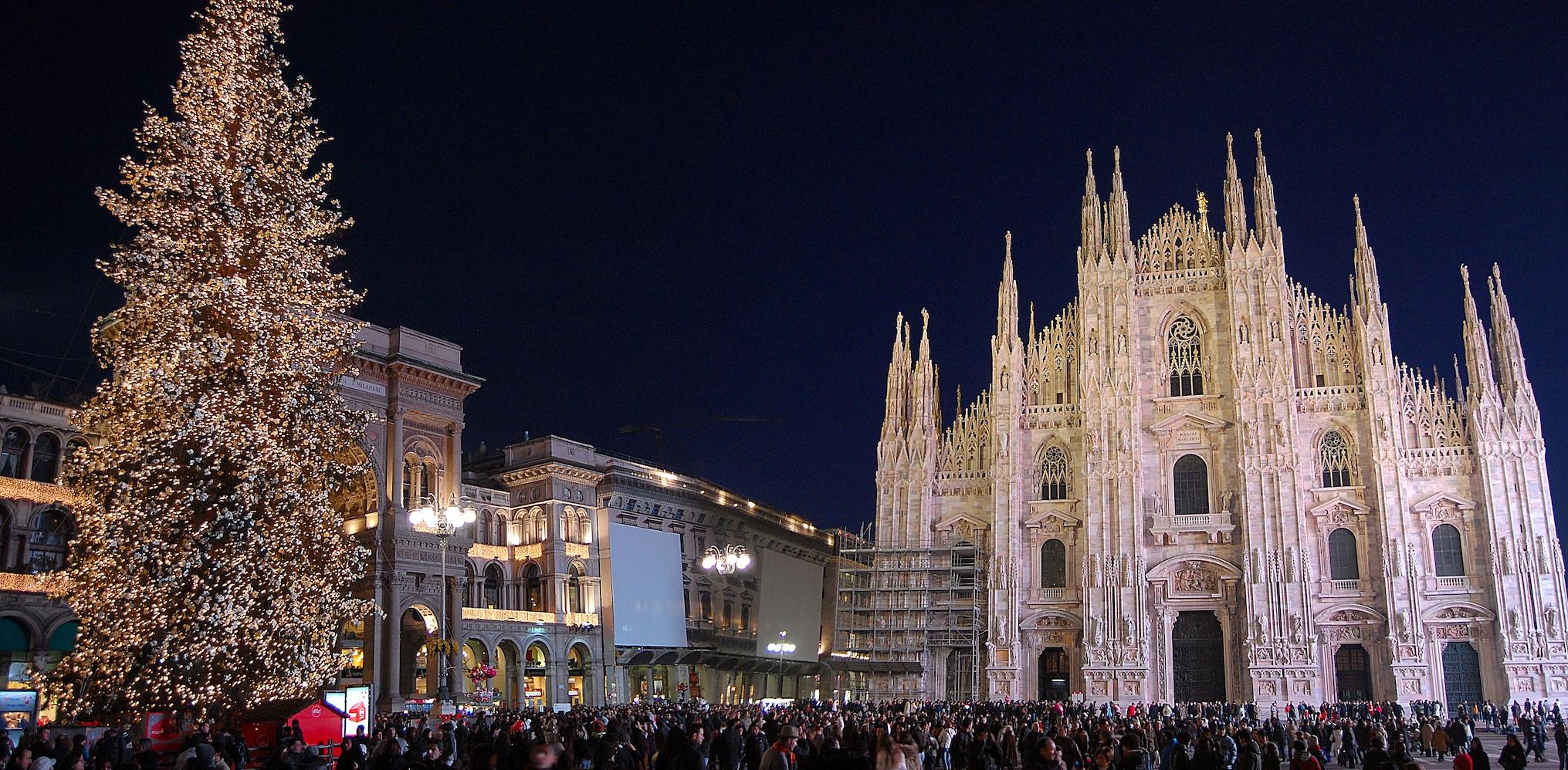 Milan's beautiful Duomo during the holidays
