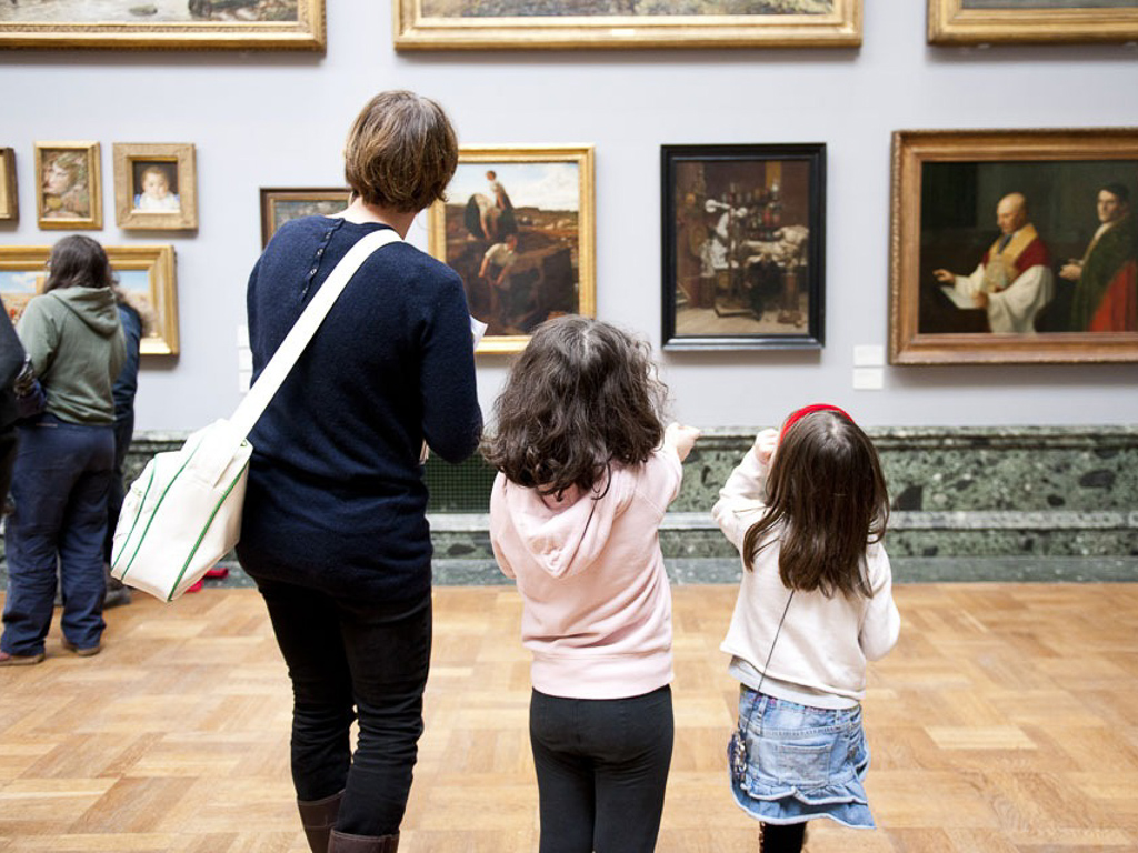 London sights like the British Museum will fascinate kids and adults alike