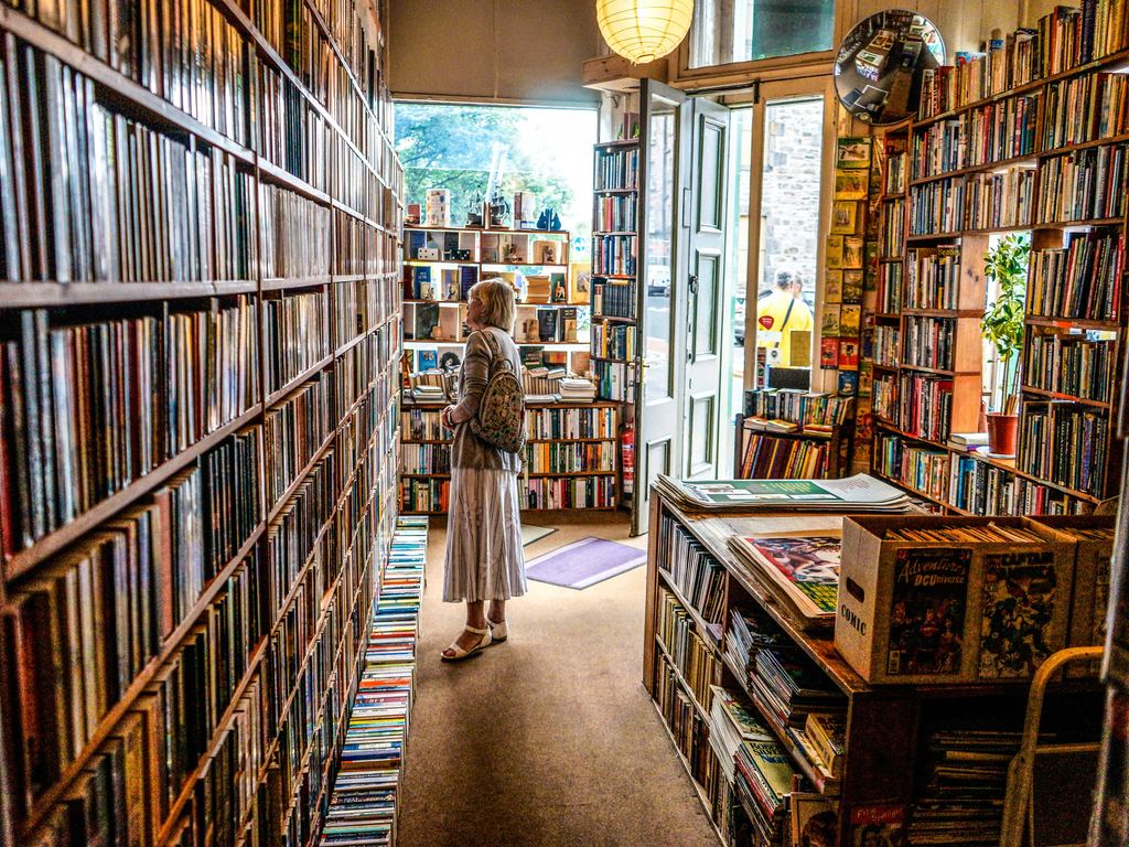 A cozy neighborhood bookstore