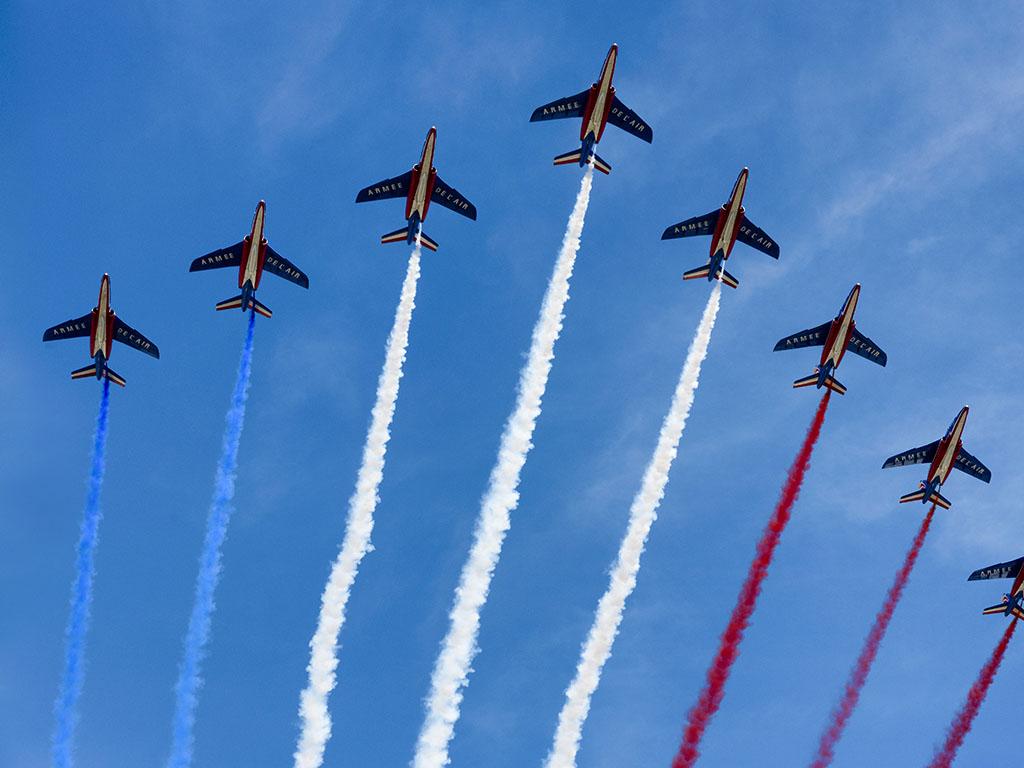 Celebration of Bastille Day