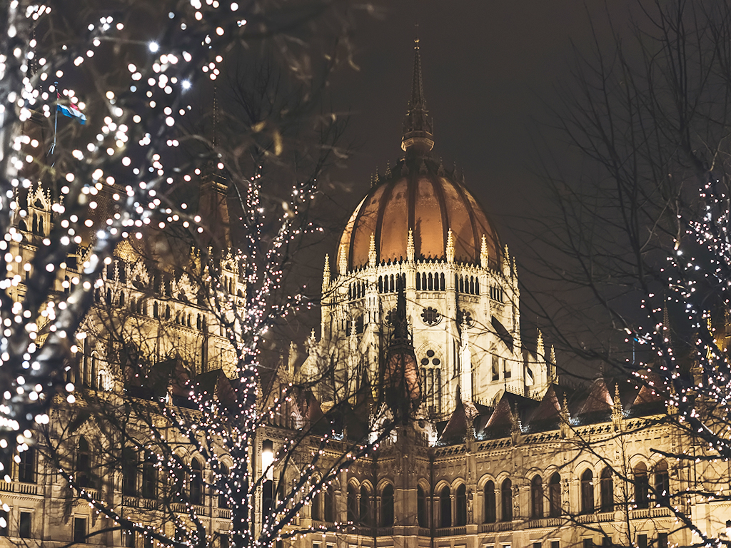 Hanukkah in Budapest
