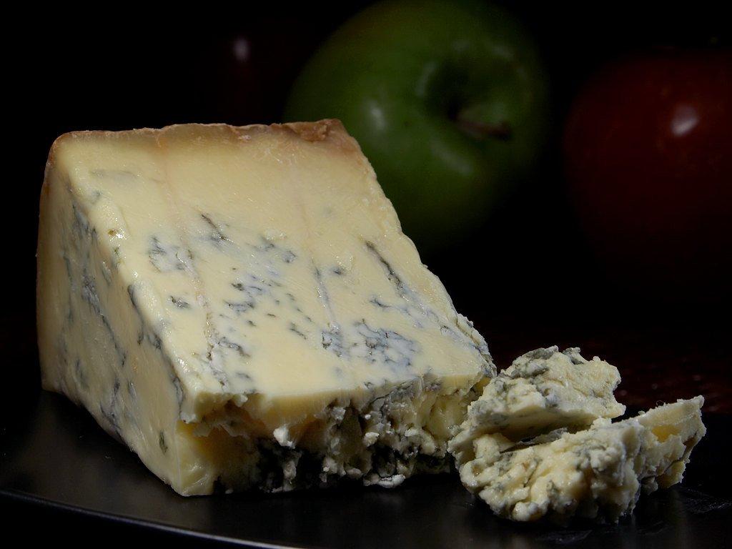 Cheddar cheese display