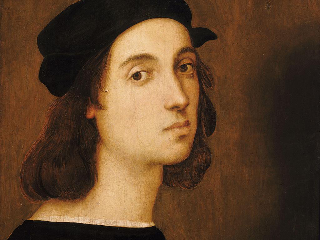 Raphael self portrait