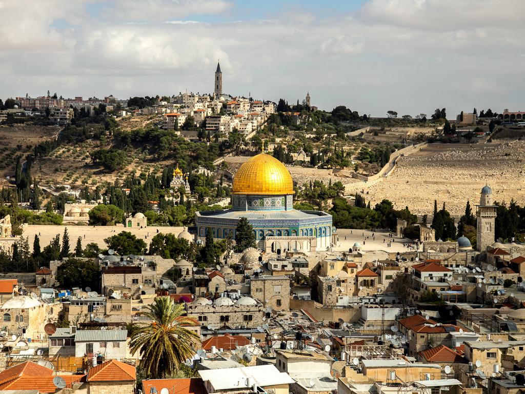An overview of Jerusalem's Old City